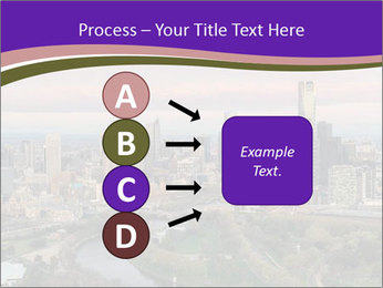 Aerial View Of Melbourne PowerPoint Template - Slide 94