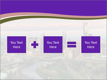 Aerial View Of Melbourne PowerPoint Template - Slide 95