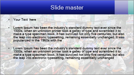 Motorcycles PowerPoint Template - Slide 2