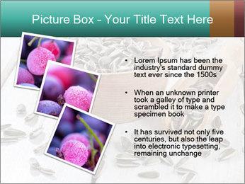 Organic Sunflower Seeds PowerPoint Template - Slide 17