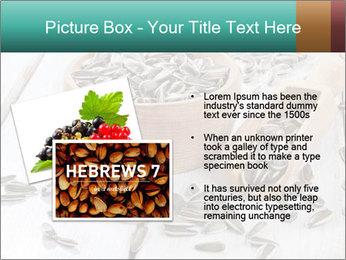 Organic Sunflower Seeds PowerPoint Template - Slide 20