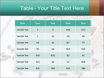 Organic Sunflower Seeds PowerPoint Template - Slide 55
