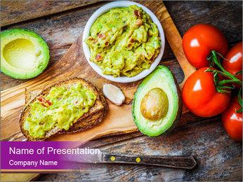Avocado Toast PowerPoint Template - Slide 1