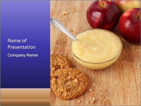 Porridge For Breakfast PowerPoint Template