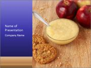Porridge For Breakfast PowerPoint Template