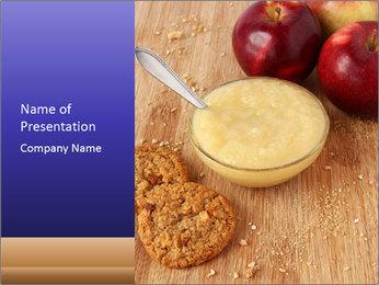 Porridge For Breakfast PowerPoint Template - Slide 1
