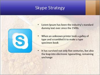Porridge For Breakfast PowerPoint Template - Slide 8