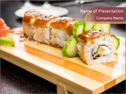 Suchi Roll PowerPoint Template