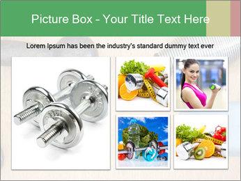 Home Barbells PowerPoint Template - Slide 19