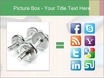 Home Barbells PowerPoint Template - Slide 21