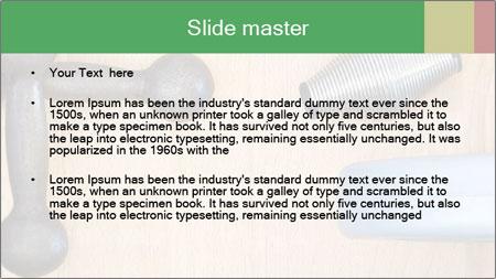 Home Barbells PowerPoint Template - Slide 2