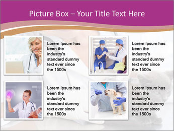 Woman Veterinarian With Kitten PowerPoint Template - Slide 14