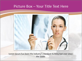 Woman Veterinarian With Kitten PowerPoint Template - Slide 16