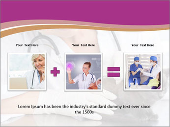 Woman Veterinarian With Kitten PowerPoint Template - Slide 22