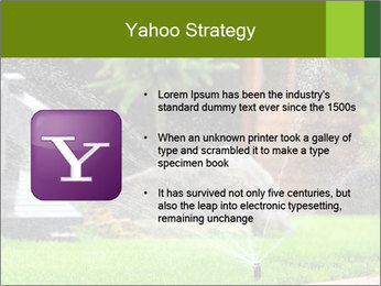 Yard Water System PowerPoint Template - Slide 11