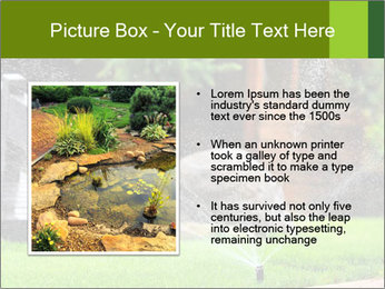 Yard Water System PowerPoint Template - Slide 13