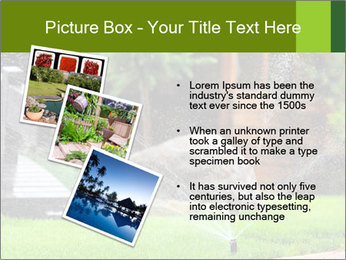 Yard Water System PowerPoint Template - Slide 17