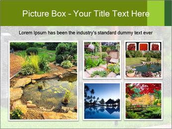 Yard Water System PowerPoint Template - Slide 19