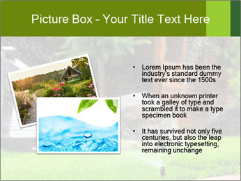 Yard Water System PowerPoint Template - Slide 20