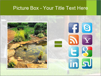Yard Water System PowerPoint Template - Slide 21