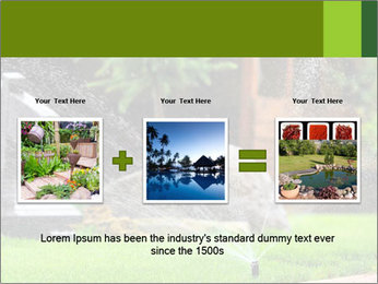 Yard Water System PowerPoint Template - Slide 22