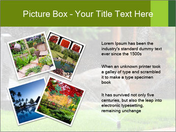 Yard Water System PowerPoint Template - Slide 23