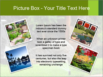 Yard Water System PowerPoint Template - Slide 24