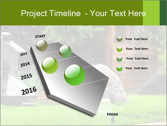 Yard Water System PowerPoint Template - Slide 26