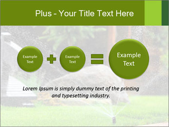 Yard Water System PowerPoint Template - Slide 75