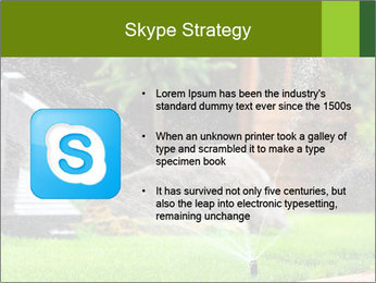 Yard Water System PowerPoint Template - Slide 8