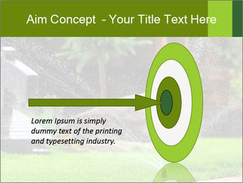 Yard Water System PowerPoint Template - Slide 83