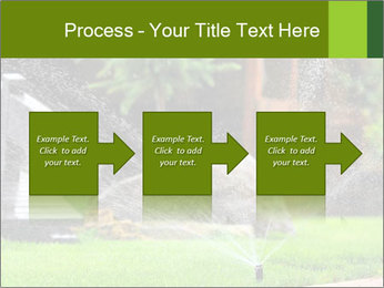 Yard Water System PowerPoint Template - Slide 88