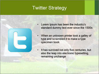 Yard Water System PowerPoint Template - Slide 9