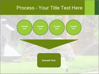Yard Water System PowerPoint Template - Slide 93