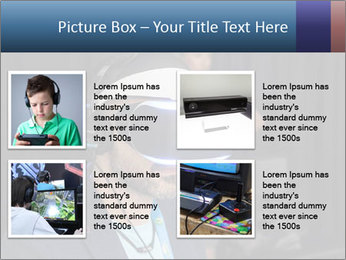 Young Videogamer PowerPoint Template - Slide 14