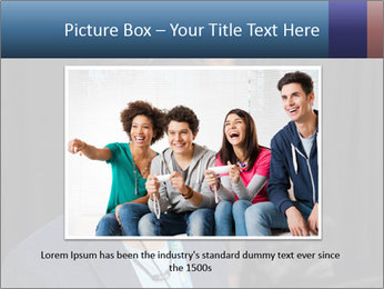 Young Videogamer PowerPoint Template - Slide 15