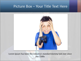 Young Videogamer PowerPoint Template - Slide 16