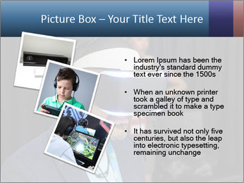 Young Videogamer PowerPoint Template - Slide 17