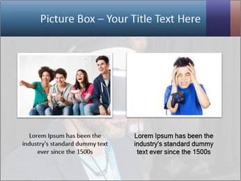 Young Videogamer PowerPoint Template - Slide 18