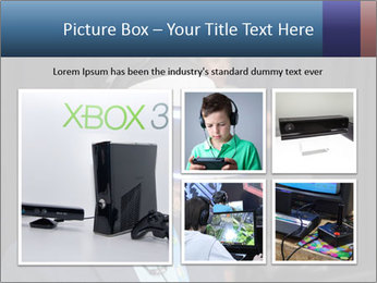 Young Videogamer PowerPoint Template - Slide 19