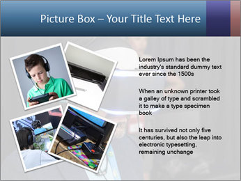 Young Videogamer PowerPoint Template - Slide 23