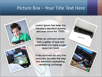 Young Videogamer PowerPoint Template - Slide 24