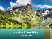 Spectacular Lakeside PowerPoint Template
