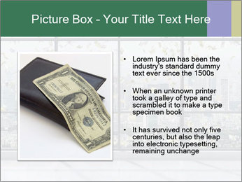 Flying Dollars PowerPoint Template - Slide 13