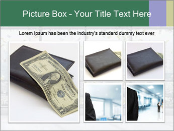 Flying Dollars PowerPoint Template - Slide 19