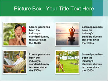 Woman Swimming Under Water PowerPoint Template - Slide 14