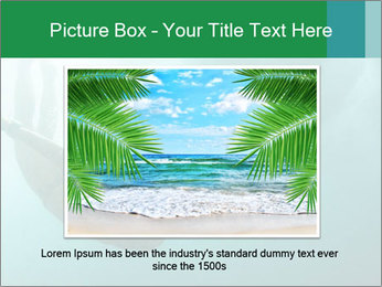 Woman Swimming Under Water PowerPoint Template - Slide 15