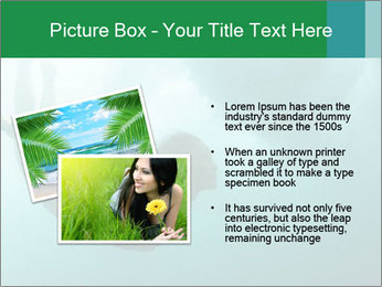 Woman Swimming Under Water PowerPoint Template - Slide 20