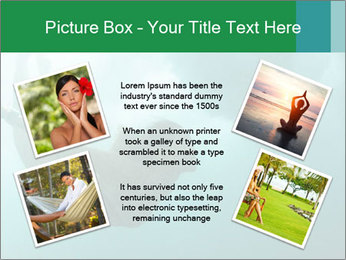 Woman Swimming Under Water PowerPoint Template - Slide 24