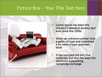 Woman Freelancer PowerPoint Template - Slide 13